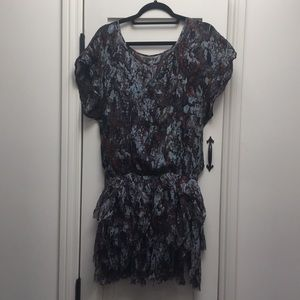 Stunning pure silk Catherine Malandrino dress